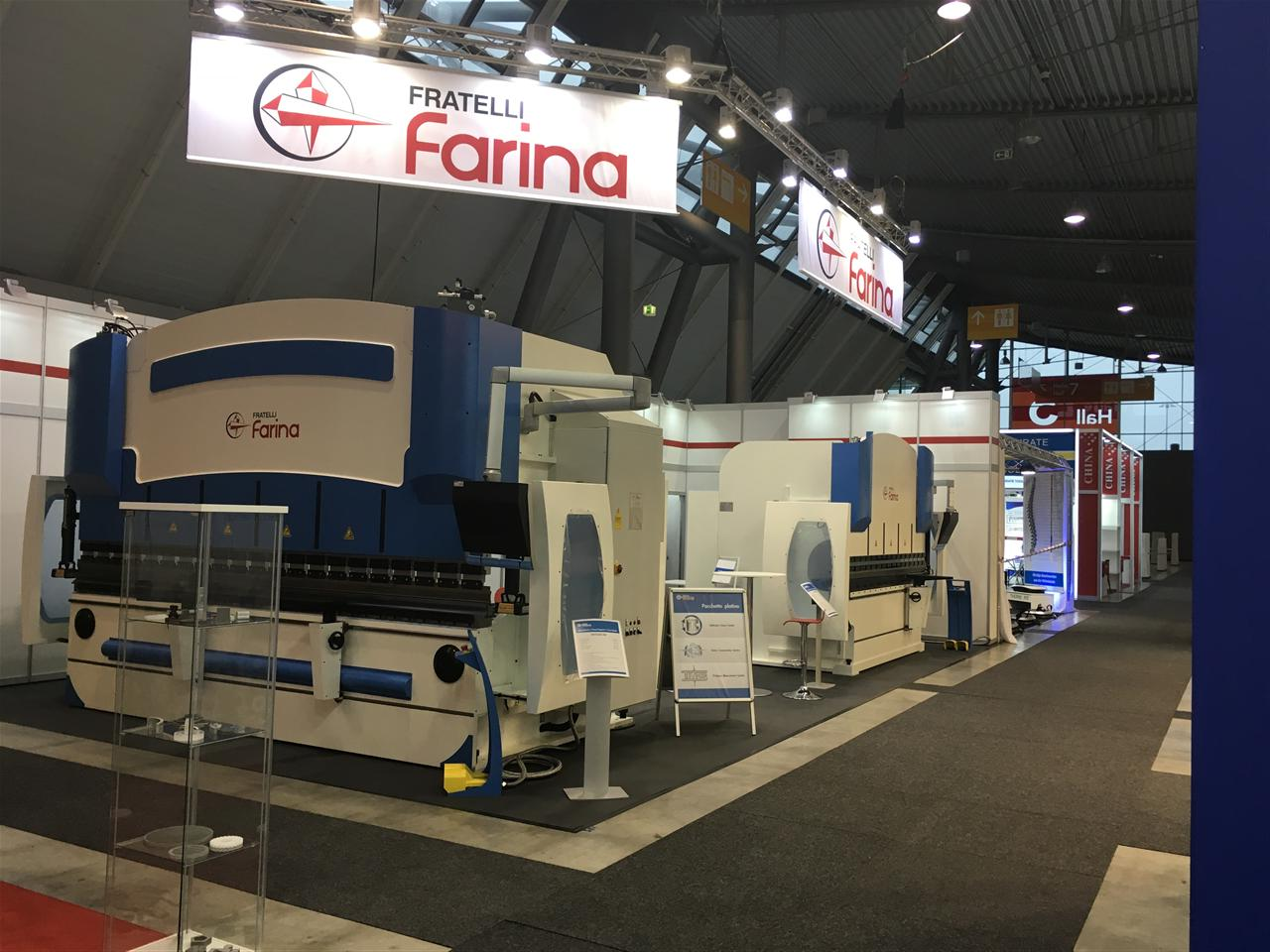 FRATELLI FARINA participated at BLECHEXPO