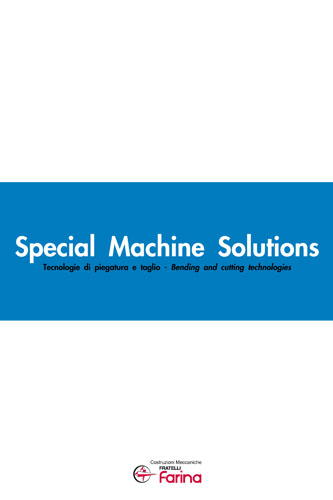 SPECIAL MACHINE SOLUTIONS
